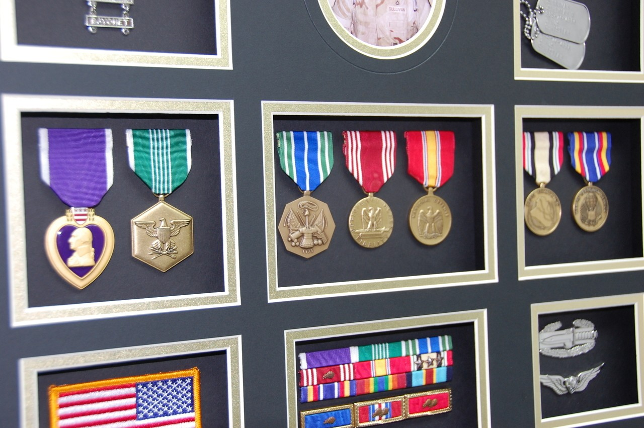 Custom Military Shadow Box Displays – Personalized Display Cases